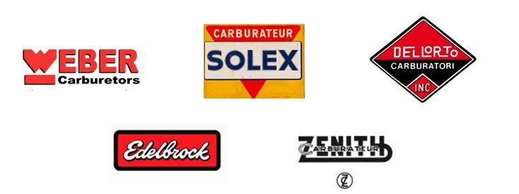 SOLEX DELLORTO WEBER EDELBROCK ZENITH