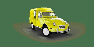 History of Citroën 2CV Minivan