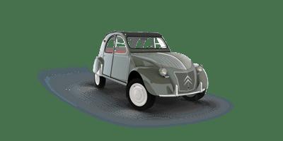 History of Citroën 2CV (A-AZAM)