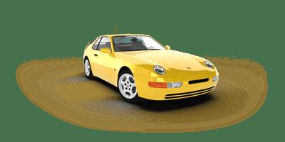 Histoire de la Porsche 968