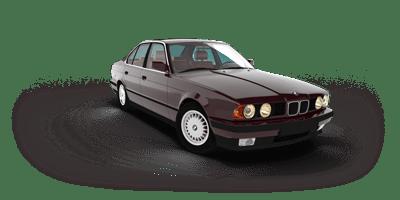 Histoire de la BMW Série 5 - E34