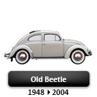 Volkswagen old Beetle 48->