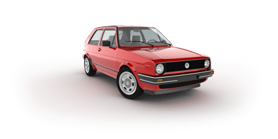 History of VW Golf 2