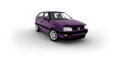 History of VW Golf 3
