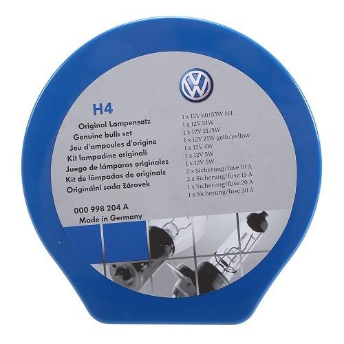 Coffret ampoules et fusibles VW