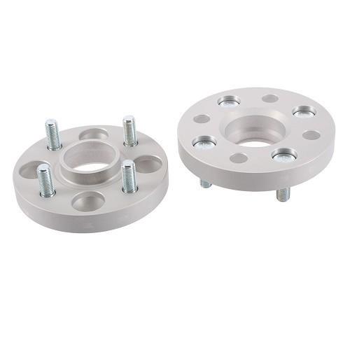 avec expertise T/ÜV Lot de 2 /élargisseurs de voie en aluminium 30 mm par rondelle // 60 mm par axe