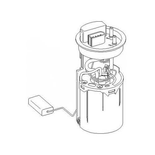 Fuel pump with level gauge for A3 (8L) 1J0 919 050