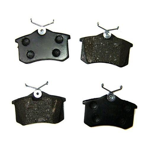 plaquettes arri re type orig frein audi a3 8l. Black Bedroom Furniture Sets. Home Design Ideas