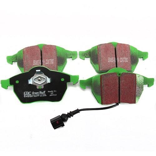 A3 1.9 TDI S3 TT 1.8 T quattro plaquettes de frein mintex FR RR