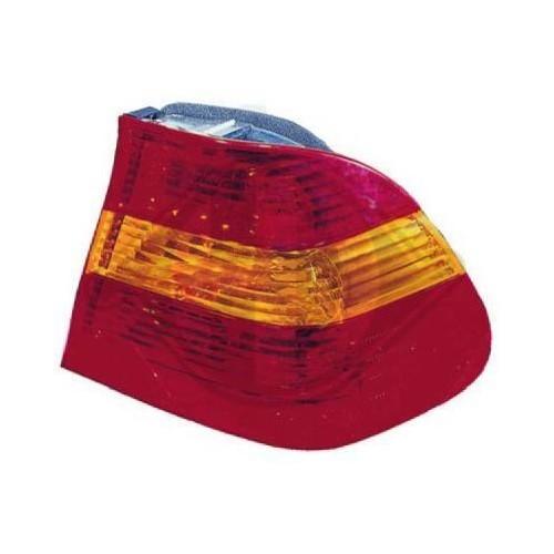 Faro Trasero Izquierdo Naranja Rojo Para Bmw E46 Berlina 09 01