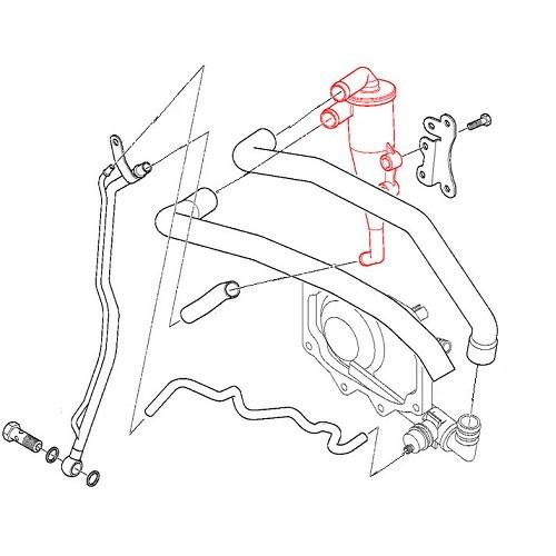 Engine Oil Separator For Bmw X5 E53 11 15 1 705 237 11151705237