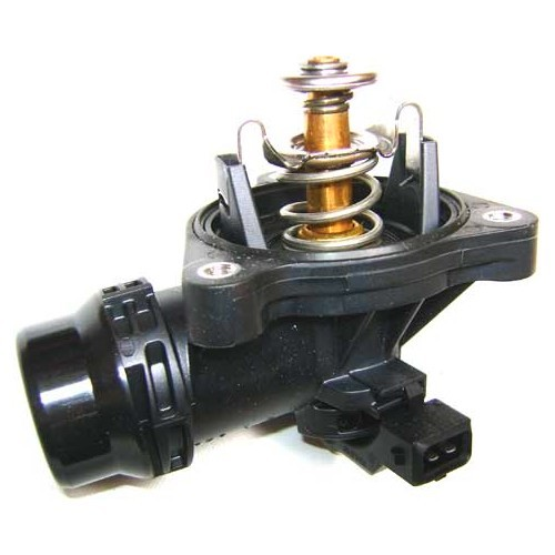 Housing with thermostat 105°C for BMW E46 engine N42 and N46