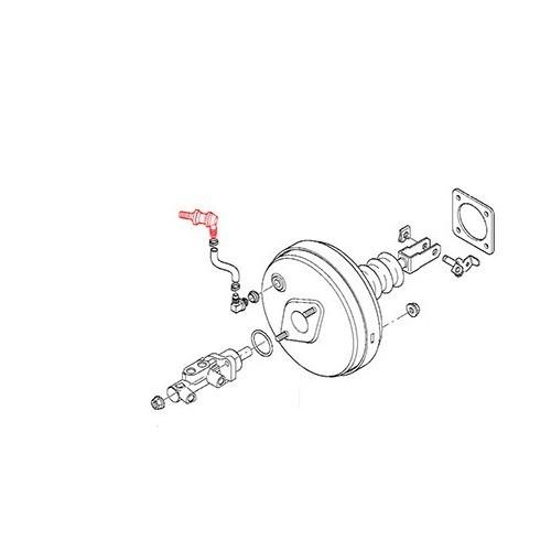 Check valve for BMW E39