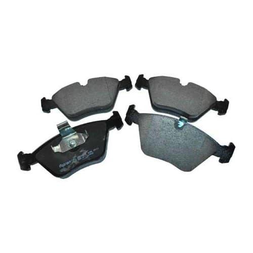plaquettes type origine frein bmw s rie 5 e39 pi ces pour bmw s rie 5 e39 mecatechnic. Black Bedroom Furniture Sets. Home Design Ideas