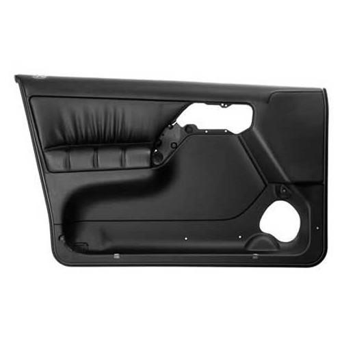 panneau de porte avant gauche en cuir noir pour golf 3 4 portes vw classic parts 1h4 867 011. Black Bedroom Furniture Sets. Home Design Ideas
