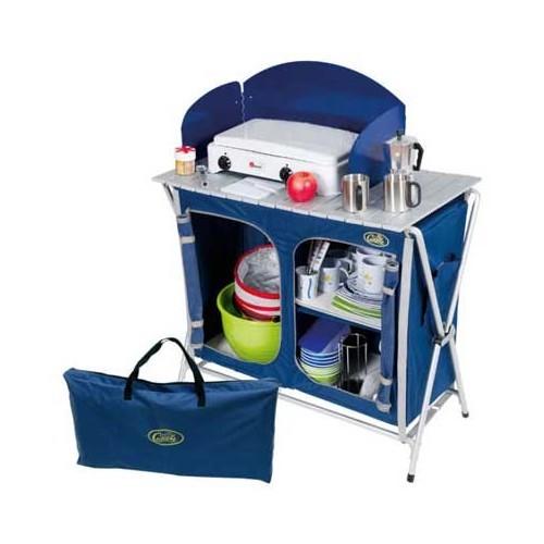 Meuble de cuisine 2 armoires 1 plateau 1 pare vent - Plateau tournant pour meuble de cuisine ...