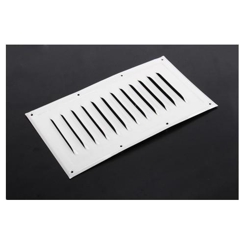grille a ration 130 x 230 aluminium laqu blanc roadloisirs. Black Bedroom Furniture Sets. Home Design Ideas
