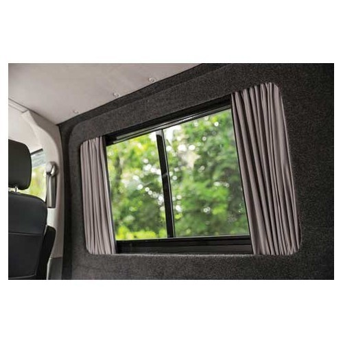 Cortinas de cristal lateral central para VW T5