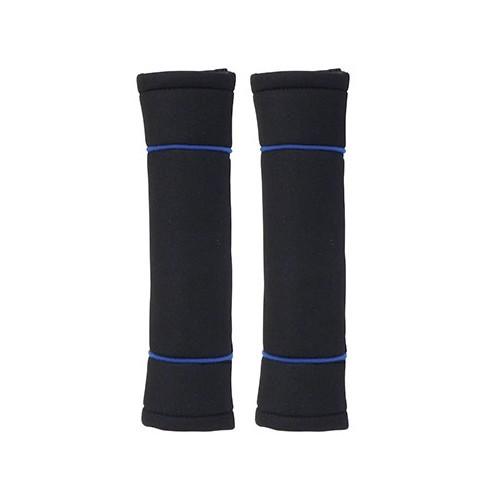 Jeu de 2 protège ceintures de securité coloris noir