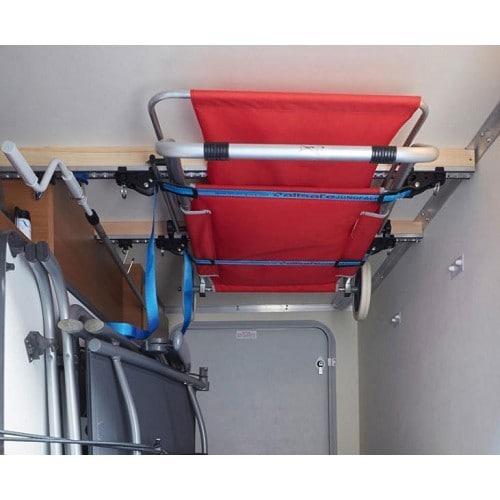 Système de rangement au plafond pour soute - largeur: 103 cm - Roadloisirs.com
