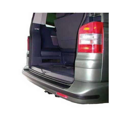 Black rear Bumper protection for VW T5 until ->2010 for non painted bumpers