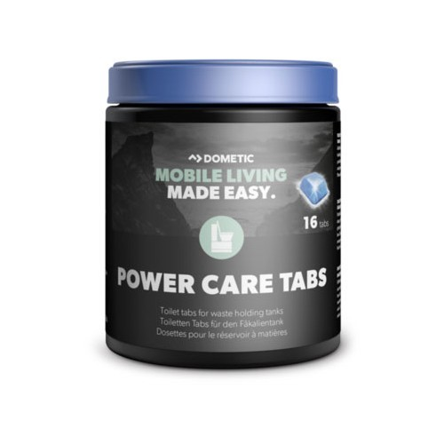 POWER CARE TABS 16 tabletas DOMETIC