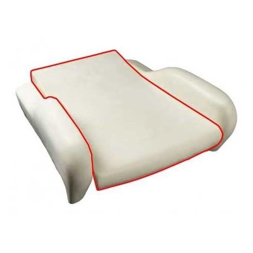 mousse d 39 assise de si ge baquet de golf 1 gti vw mecatechnic. Black Bedroom Furniture Sets. Home Design Ideas