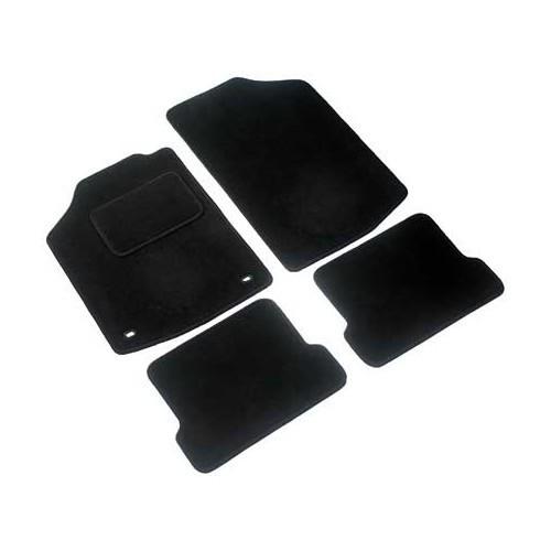 jeu de 4 tapis de sol ronsdorf luxe noirs pour golf 1 et. Black Bedroom Furniture Sets. Home Design Ideas