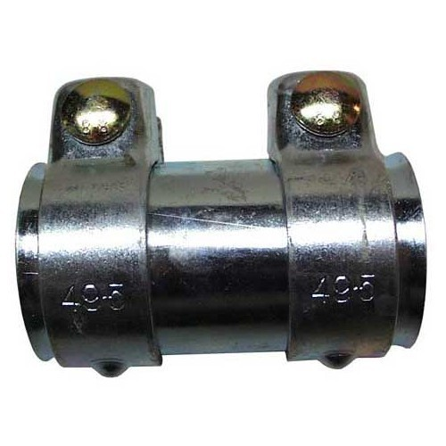 Adaptor tube for exhaust tube mounting