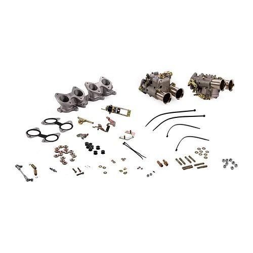 kit 2 weber 45 dcoe pour moteur golf 16 mecatechnic. Black Bedroom Furniture Sets. Home Design Ideas