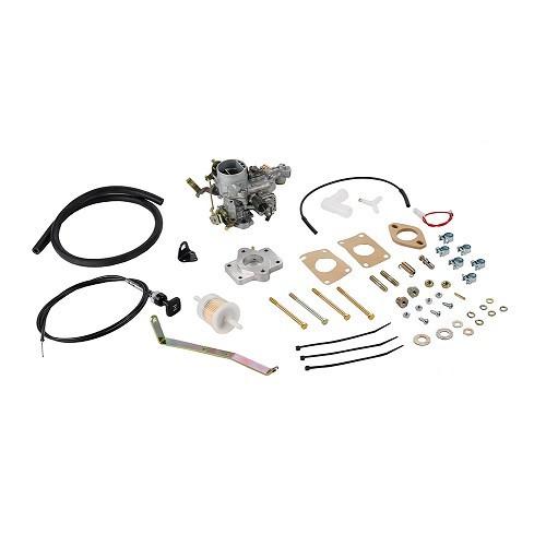 kit carburateur weber 34 ich pour golf 1 1100cc 79 84 1529099100 vw mecatechnic. Black Bedroom Furniture Sets. Home Design Ideas
