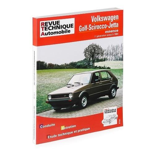 revue technique automobile pour volkswagen golf scirocco et jetta essence vw 1 mecatechnic. Black Bedroom Furniture Sets. Home Design Ideas