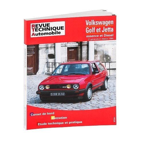 Technical magazine in French to Golf 2 & Jetta Gasoline & Diesel