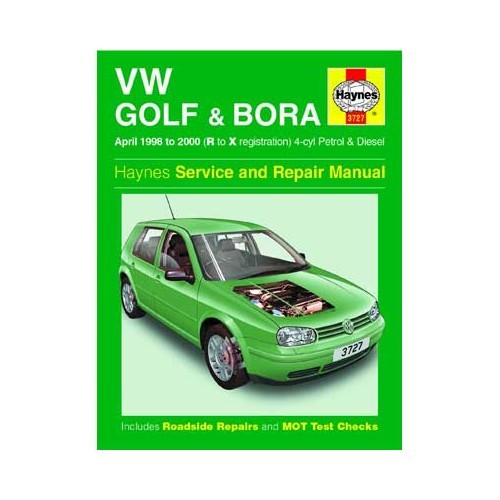 Manual de taller Haynes para Golf 4 de 1998 a 2000