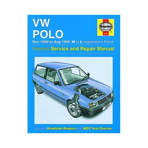 Polo Repair manual Automobile library - Mecatechnic