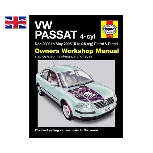 2000 volkswagen passat repair manual