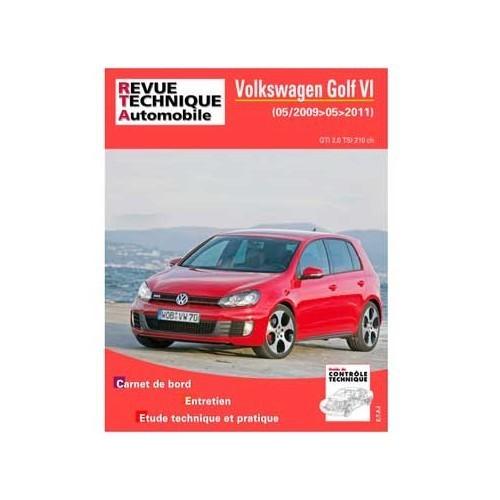 revue technique pour volkswagen golf 6 gti 2009 11 vw 5. Black Bedroom Furniture Sets. Home Design Ideas