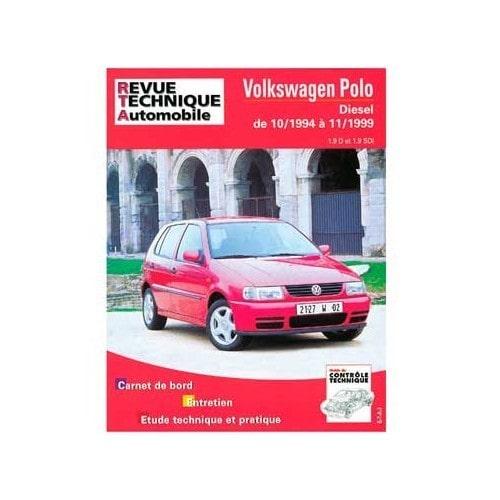 Volvo 240 M5 Engine: Manual De Taller Para Volkswagen Polo 1.9d Y 1.9 SDI De