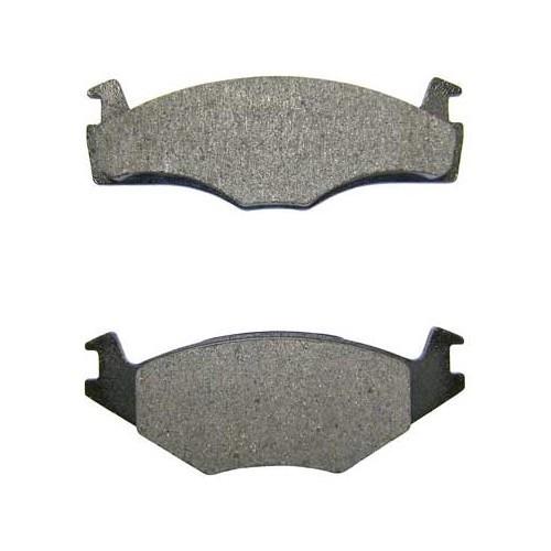 plaquettes avant type origine frein vw golf 3 pi ces pour golf 3 mecatechnic. Black Bedroom Furniture Sets. Home Design Ideas