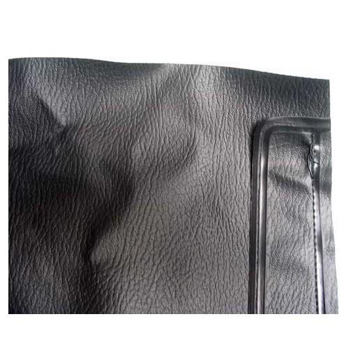 ciel de toit pour golf 1 cabriolet 80 81 en vinyl noir vw. Black Bedroom Furniture Sets. Home Design Ideas