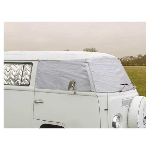 Windscreen thermal insulation for Kombi T2 68 -> 79