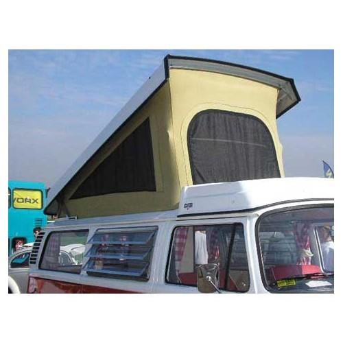 toile de toit orange 3 fen tres pour combi westfalia 73 79 231 070 705 231070705 vw bay. Black Bedroom Furniture Sets. Home Design Ideas