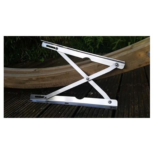 charni res inox de toit relevable westfalia pour combi 68 73 par 2 231070712a 231 070 712 a. Black Bedroom Furniture Sets. Home Design Ideas