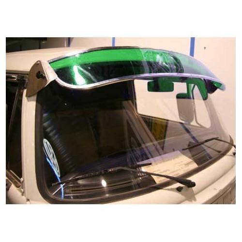 casquette de pare brise verte pour combi 68 79 000 072. Black Bedroom Furniture Sets. Home Design Ideas