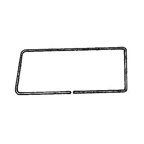 Moulure aluminium DeLuxe de vitre arrière droite pour
