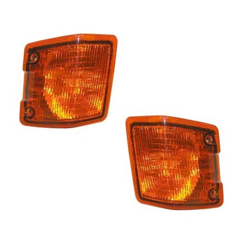 2 front orange indicators for VW Transporter T25 79 ->92