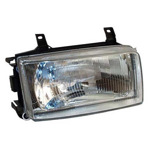 Right-hand H4 headlamp for VW Transporter T4, 90 ->95