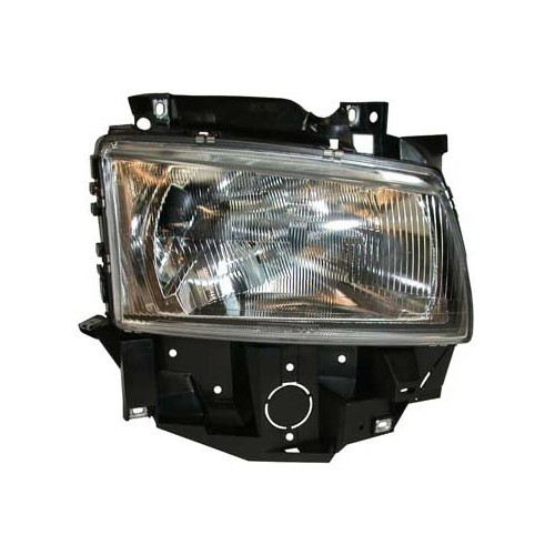 Right-hand H4 headlamp for VW Transporter T4 Multivan, 96 ->03