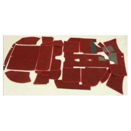 Moquette luxe pour karmann ghia cabriolet 65 67 mecatechnic for Moquette luxe
