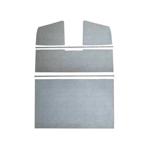 Paneles de revestimiento interior de techo de pvc gris - Paneles revestimiento interior ...